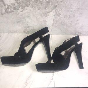 Nine West Suede Sandals Size 12M